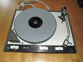 Elektro-Mess-Technik - EMT 928 Turntable