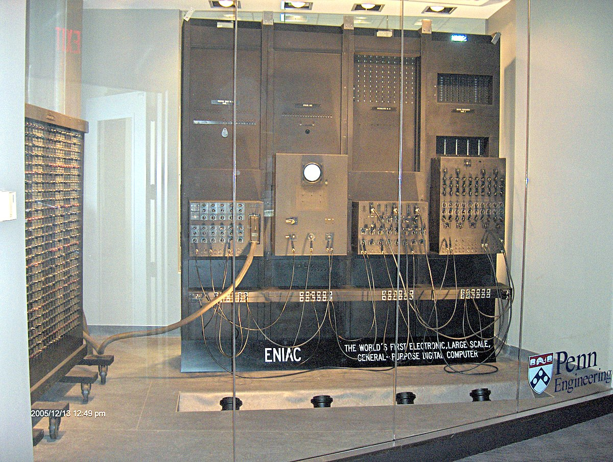 Eniac Wikipedia Or Photo Of Circuit Board Skinned Human Close Up And Binary Code