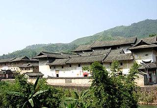 Hakka walled village Settlement style historically popular among Hakka Chinese