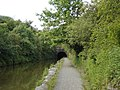 Eastern entrance to tunnel on Union Canal near Falkirk - geograph.org.uk - 17104.jpg