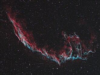 Veil Nebula - Image: Easternveil Bicolor Hunter Wilson