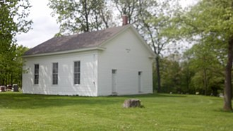 National Register of Historic Places listings in Adams County, Illinois - Image: Ebenezer Methodist Episcopal Chapel 2