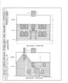 Ebenezer Smith House, 20 Main Street, Durham, Strafford County, NH HABS NH,9-DUR,4- (sheet 4 of 38).png