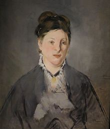 Edouard Manet Full-face Portrait of Manets Wife.jpg