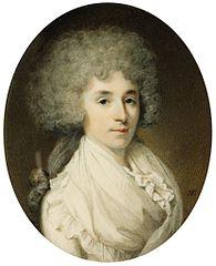 Miniatura Francoise Lambertine de Kolbel, Lady Payne i I-szej baronowej Lavington (1767-1807)