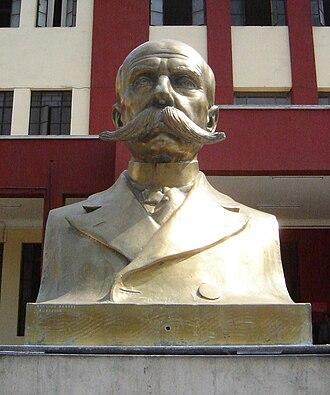 Edward Jan Habich - Bust of Edward Jan Habich at the National University of Engineering in Lima, Peru