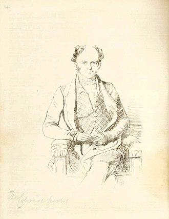 Edward Deas Thomson - A younger Sir Edward Deas Thomson by William Nicholas 1847-1848.