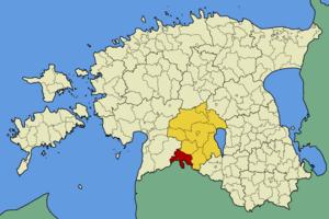 Abja Parish - Image: Eesti abja vald