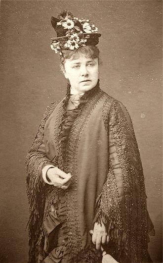 Effie Bancroft - Marie Wilton (later Effie Bancroft)