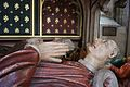 Effigy of William II Canynges in mayoral robes from his tomb, St Mary Redcliffe, Bristol, UK - 20100602.jpg