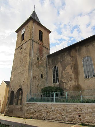 Arnaville - The church in Arnaville