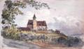 Eglosheim 1850 - Aquarell von Eduard von Kallee.png