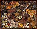 Egon Schiele - Krumau - Crescent of Houses (The small City V) - Google Art Project.jpg