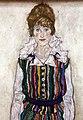 Egon schiele, ritratto di edith (la moglie dell'artista), 1915, 02.jpg