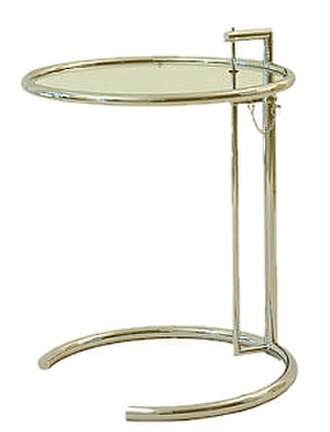Eileen Gray - E-1027 table by Eileen Gray