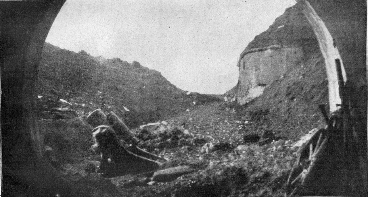 Ruinas de Fort Douamont