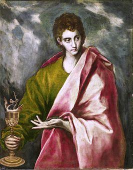 Johannes door El Greco, ± 1600