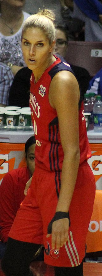 Elena Delle Donne - Delle Donne with the Washington Mystics, 2017 WNBA semifinals
