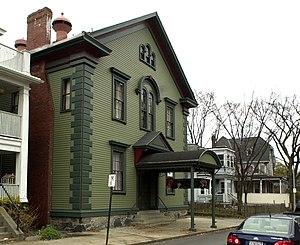 Eliot Hall - Image: Eliot Hall Jamaica Plain Boston MA 01