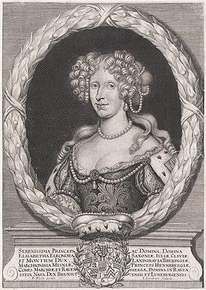 Elisabeth Eleonore of Brunswick-Wolfenbüttel - Image: Elisabeth Eleonore of Brunswick Wolfenbüttel
