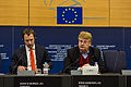 Elmar Brok Press conference Strasbourg European Parliament 2014-02-03 01.jpg
