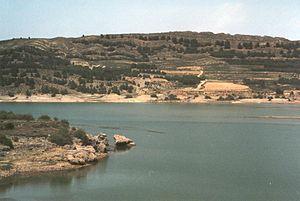 Sierra de Solorio - Image: Embalse de La Tranquera
