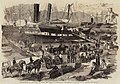 Embarkation of Artillery on Board the Argo, at Balaclava, for England - ILN 1856.jpg