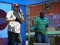 Emcee T & Ray Luv performing at 5th Annual AHSC 2.JPG