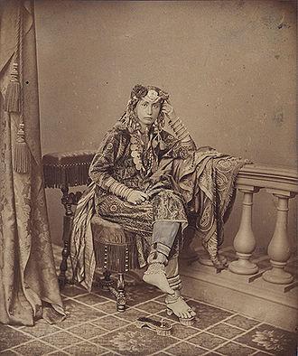 Emily Ruete - Emily Ruete in traditional clothes as Princess of Zanzibar