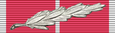 Медаль Империи Галантность, военная лента 1937-40, с серебряной лавровой ветвью.png