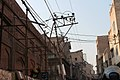 Entangled wires in old streets in Walled City of Lahore.jpg
