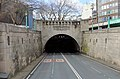 Entering Mersey Tunnel Queensway in Liverpool.jpg