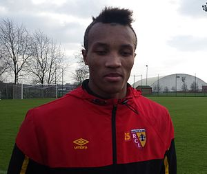 Jean-Philippe Gbamin - Gbamin in december 2014.