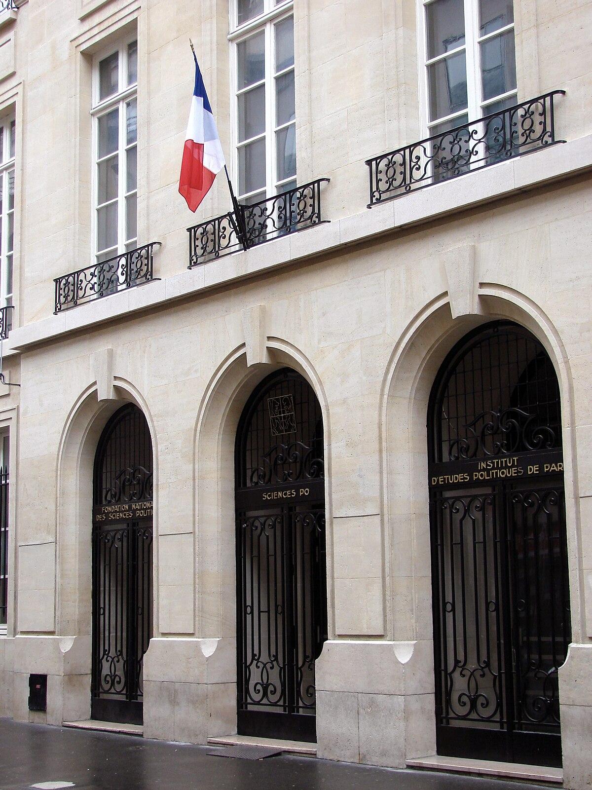 Institut D 233 Tudes Politiques De Paris Wikipedia
