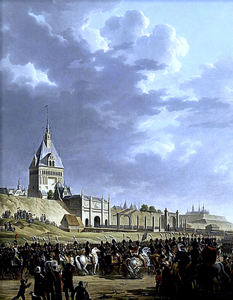 Siege of Danzig (1807) - Entry of Napoleon and the French Army in Danzig 1807.