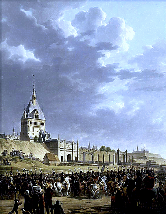 Entry of Napoleon and the French Army in Danzig 1807