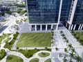 "Environmental art ""Flutter"" at the NE and SE lawn quadrants of the Wilkie D. Ferguson, Jr., U.S. Courthouse, Miami, Florida LCCN2010720279.tif"