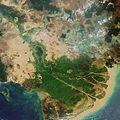Envisat image of the Mekong Delta in Vietnam ESA210677.jpg