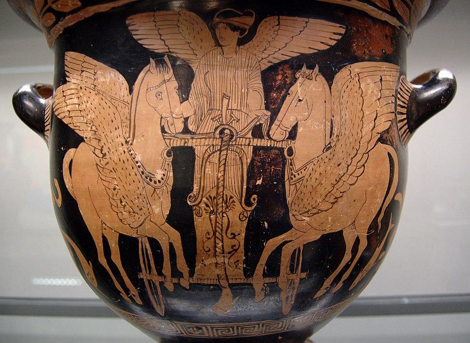 Eos chariot 430-420 BC Staatliche Antikensammlungen