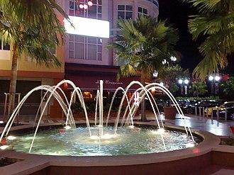 Era Square - Image: Era Walk fountain