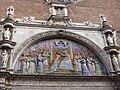 Església Notre-Dame de la Dalbade (Tolosa) - Mosaic timpà façana principal.jpg