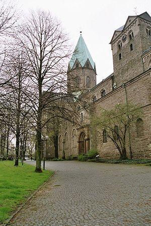 Werden Abbey - St Ludger's basilica in Werden