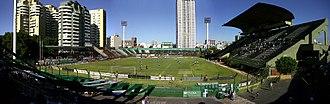 Estadio Arquitecto Ricardo Etcheverry - Image: Estadioferrocarriloe ste