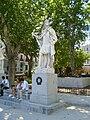 Estatua de Alfonso I en la Plaza de Oriente.JPG