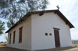 California Historical Landmarks in San Luis Obispo County, California - Image: Estrella Adobe Church