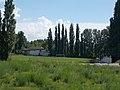 Esztergom City football stadium, Primate's Island, Esztergom, Hungary.jpg