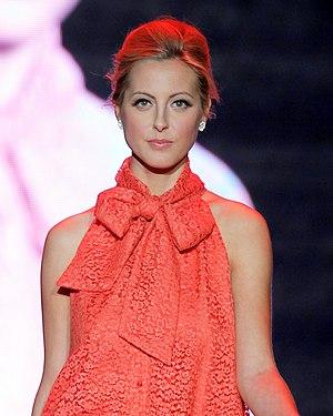 Eva Amurri - Eva Amurri in Oscar de la Renta 2011.