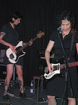 Carla Bozulich - Carla Bozulich and Tara Barnes in Club W71, Weikersheim