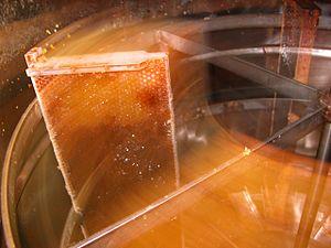 Honey extractor - Image: Extractor Motion