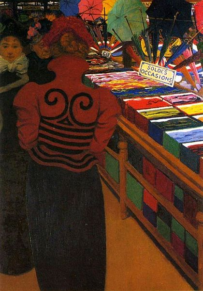 File:Félix Vallotton, 1898 - Bon Marché D.jpg